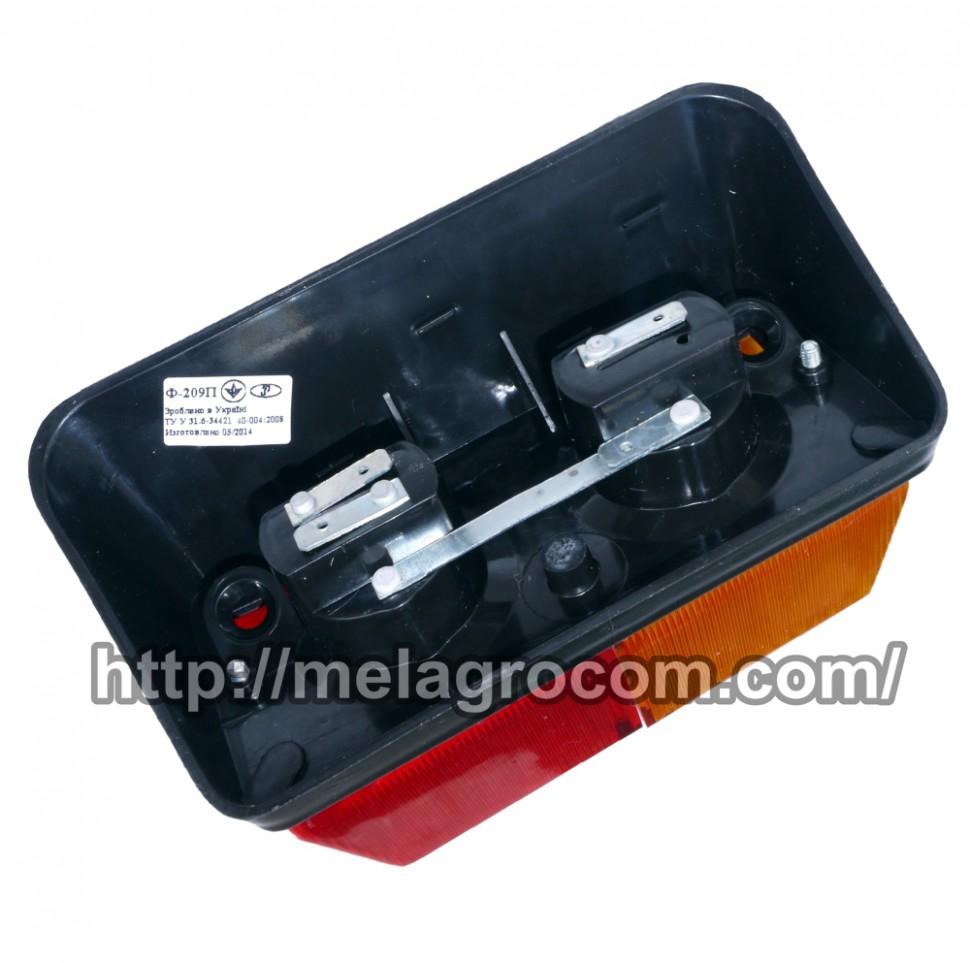Фонарь мтз задний цена | Фонарь задний МТЗ ФП-209 (пластм.