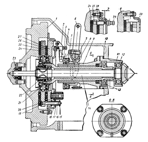 Муфта сцепления (корзина) Т-16, Д-21 (СШ20.21.055)