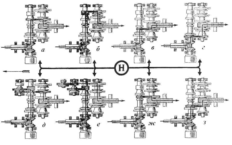 Схема кпп т-16 фото
