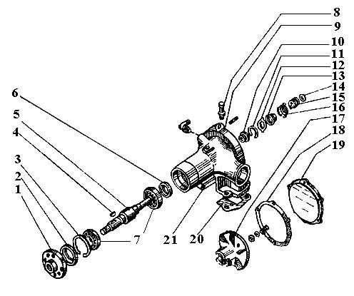 Насос водяной (помпа) Т-150 (СМД-60) 72-13002.00-01 Насос водяной (помпа) Т-150 (СМД-60) 72-13002.00-01