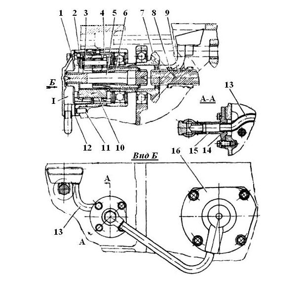 Работа и устройство КПП Т-40 с ходоуменьшителем Т25-1900010